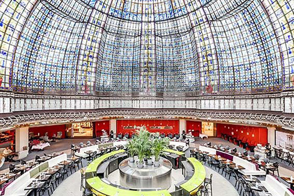 Reserver En Groupe Privatiser Brasserie Printemps Paris Saint Lazare
